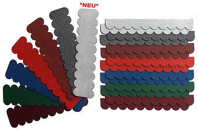 2m²,Mini-Dachschindeln Rot,Pappe,Vogelhaus,Kaninchen-Hasestall,Baumhaus,Carport