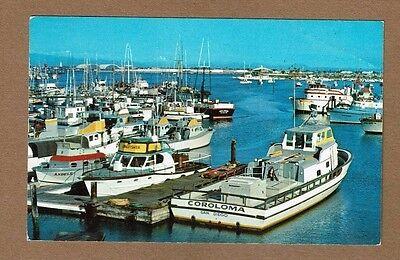 San Diego,CA California,Sportfishing Boats,Municipal Yacht Basin, used 1959