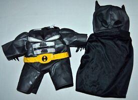 Build A Bear -Batman super hero Outfit