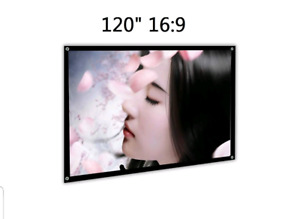 120 inch 16:9 Portable Projection Screen