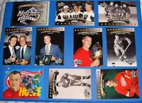 92-93 Upper Deck - Gordie Howe Heroes - Set Plus Header