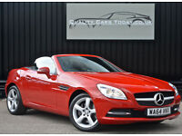 2014 '64' Mercedes SLK 250 CDI Automatic Diesel * Fire Opal Red + Pristine*