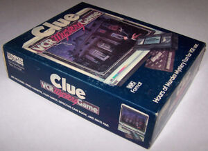 Vintage Clue VCR Mystery Game VHS (Complete) - 1985 - Used - $20