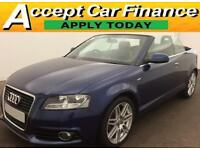 Audi A3 Cabriolet FROM £83 PER WEEK!