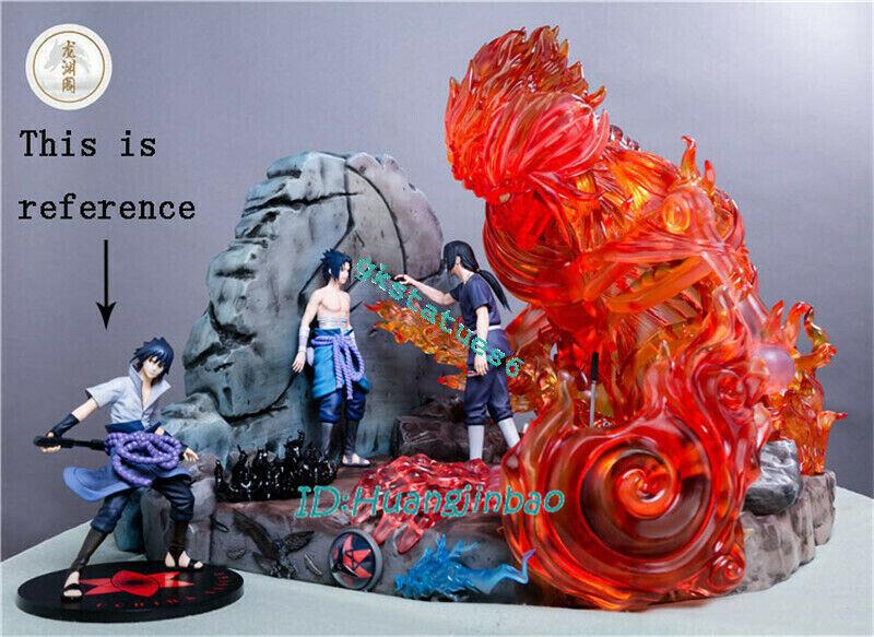 Naruto Uchiha Sasuke Itachi Resin Model Painted Statue Pre-order Anime Sculpture