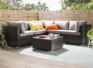 CLEARANCE - Corner sectional for the patio (LAST SET)