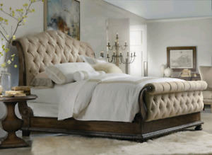 Hooker Furniture Bedroom Rhapsody King Tufted Bed