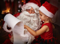 SANTA & Friends! Christmas for CORPORATE & Private 204 962 2222