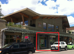 Bright Retail Space for Lease in Downtown Banff