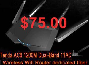 No more TV Box FREEZING w. the Tenda AC6 DualBand  Wi-Fi Router!