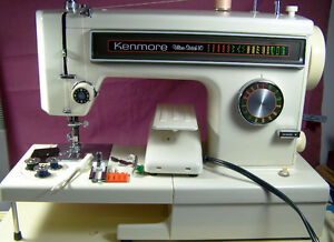 KENMORE PORTABLE ULTRA-STITCH 10 FREE ARM SEWING MACHINE