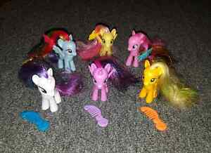 6 My Little Pony Figures & Mini Mouse Mall