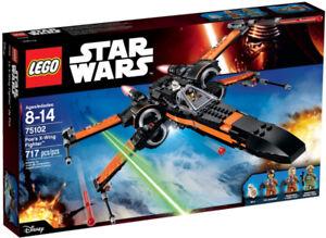 Lego Star War Poes X-wing Fighter Star Wars ForceAwakens 75102