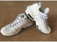 Men's Nike air max 95 white and black size 8