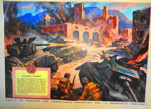La Presse. 2e Guerre mondiale. 1945 Publicité de guerre Molson