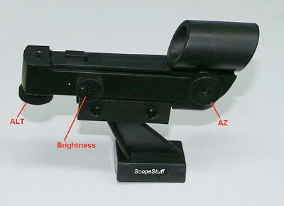 Red Dot Finder for Telescope Synta/Vixen/Orion type Finder Shoes