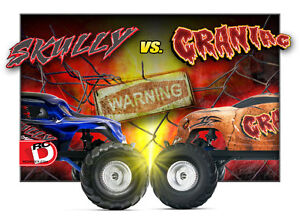 TRAXXAS Craniac 2WD Monster Truck (Red or Orange) Windsor Region Ontario image 4