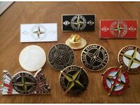Stone island novelty pin badges . Choose any 5
