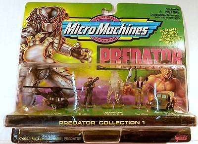 Micro Machines PREDATOR Collection #1 with Invisible Predator & Huey Helicopter