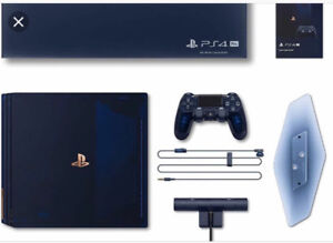 Brand new unopened Sony PS4 Pro 500 million limited edition