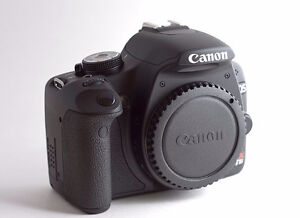 mint canon EOS Rebel T1i dslr body with charger