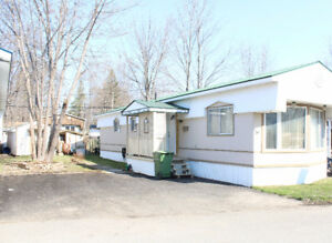 IlE Bizard – Mobile Home on rented lot , access to the River