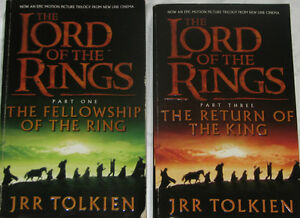 2 Lord of the Rings Novels London Ontario image 1