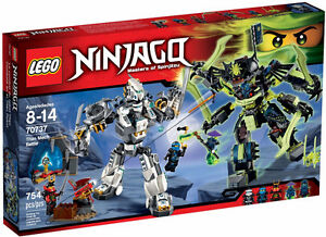 LEGO NINJAGO 70737 Titan Mech Battle Brand New Sealed in Box