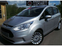 2013 FORD B-MAX 1.6 TITANIUM AUTO 5DR - 2 OWNERS - LOW MILES - FULL S/HISTORY