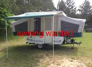 Awning wanted for 8 foot pop up