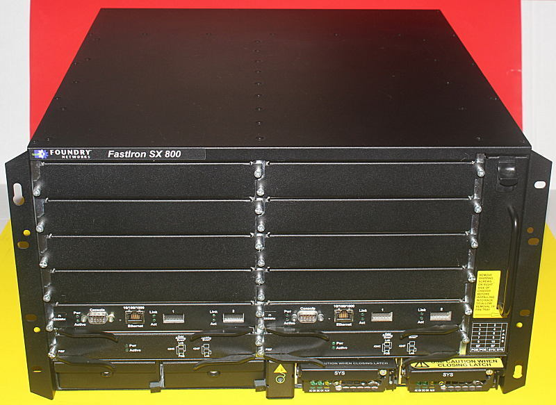 Brocade Fi-sx800-ac Sx 800 2x Sx-fisf Fabric 2x Sx-fi2xgmr4 2x Ac Ps 3xavailable