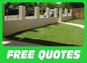 PROFESSIONAL  BLOCKLAYING AND FENCING FREE QUOTES 20YR EXPERIENCE West End Brisbane South West Preview