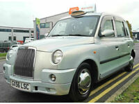 LONDON TAXIS INT TX4 SILVER AUTO 6 SEAT VAN CAR