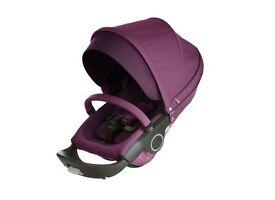 Purple Stokke Xplory Seat Style Kit