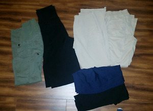 Small maternity pants and tights for sale