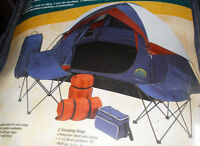 Tent, Sleeping Bags, Camping Chairs & cooler (never used) $75.00