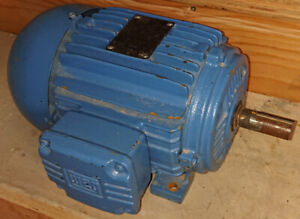 WEG Severe Duty 3 Phase Motor, 2HP, 575V, 60Hz