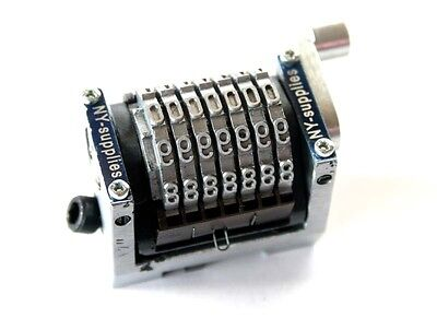 New 316 Rotary Straight Backwards Numbering Machine For Morgana - 7 Digit