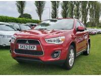 2013 Mitsubishi Asx 1.6 3 5d 115 BHP Hatchback Petrol Manual
