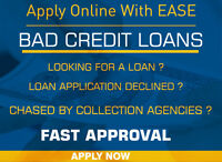 Personal Loans for Bad credit Individuals Available