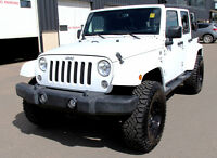 2014 Jeep Wrangler UNLIMITED SAHARA/LIFTED CUSTOM JEEP