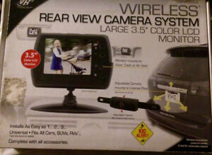 Wireless rear view backup camera
