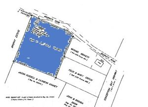 For Sale, 1 acre building lot, Holyrood