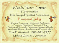 ***BATHROOM FINISHING SPECIALISTS! EUROPEAN QUALITY!***