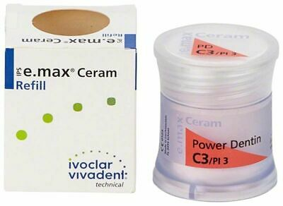 Ivoclar Ips E.max Ceram Shade Dentin C3 1 20g X 1 Bottle 681339