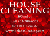 HOUSE CLEANING SERVICES in CALGARY