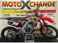 2021 HONDA CRF 250....FULLY TRICKED...£12,195....MOTO X CHANGE