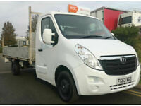 MOVANO FORD DROPSIDE 2.3CDTI LONG FLATBED SCAFFOLD VAN TRUCK