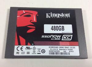 "Kingston KC300 480GB Internal 2.5"" SSD Solid State Drive"