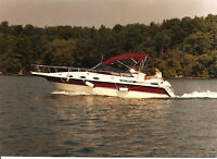 24-foot Cruiser with Teak Interior - KMV AC Fully-Equipped